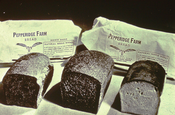 Pepperige Farm Original Bread wrapper